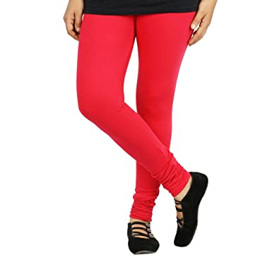 50d412b6829045 SFA WOMENS 6 SHADES OF RED COLOUR FULL LENGTH COTTON LYCRA LEGGINGS: Amazon. in: Clothing & Accessories