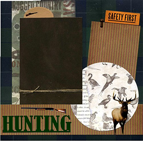 Hunting - Premade Scrapbook Page by Susan's Scrapbook Shack, LLC