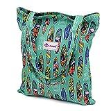 LIFEMATE Floral Tote Bags Waterproof Tote Shoulder