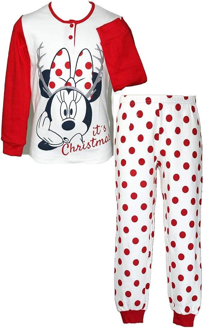 Pigiama Disney Minnie Mouse Unicorno Interlock Pigiama Minnie Mouse Manica Lunga Bambina