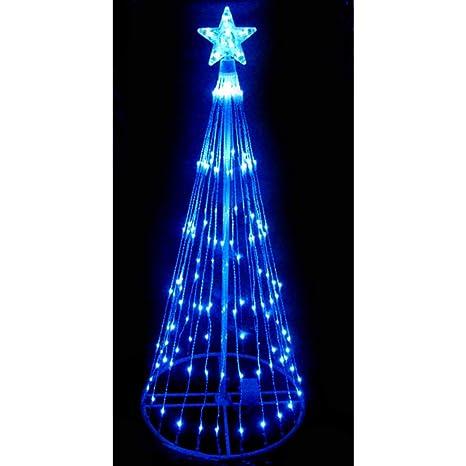 Amazon Com Northlight 4 Blue Led Light Show Cone Christmas