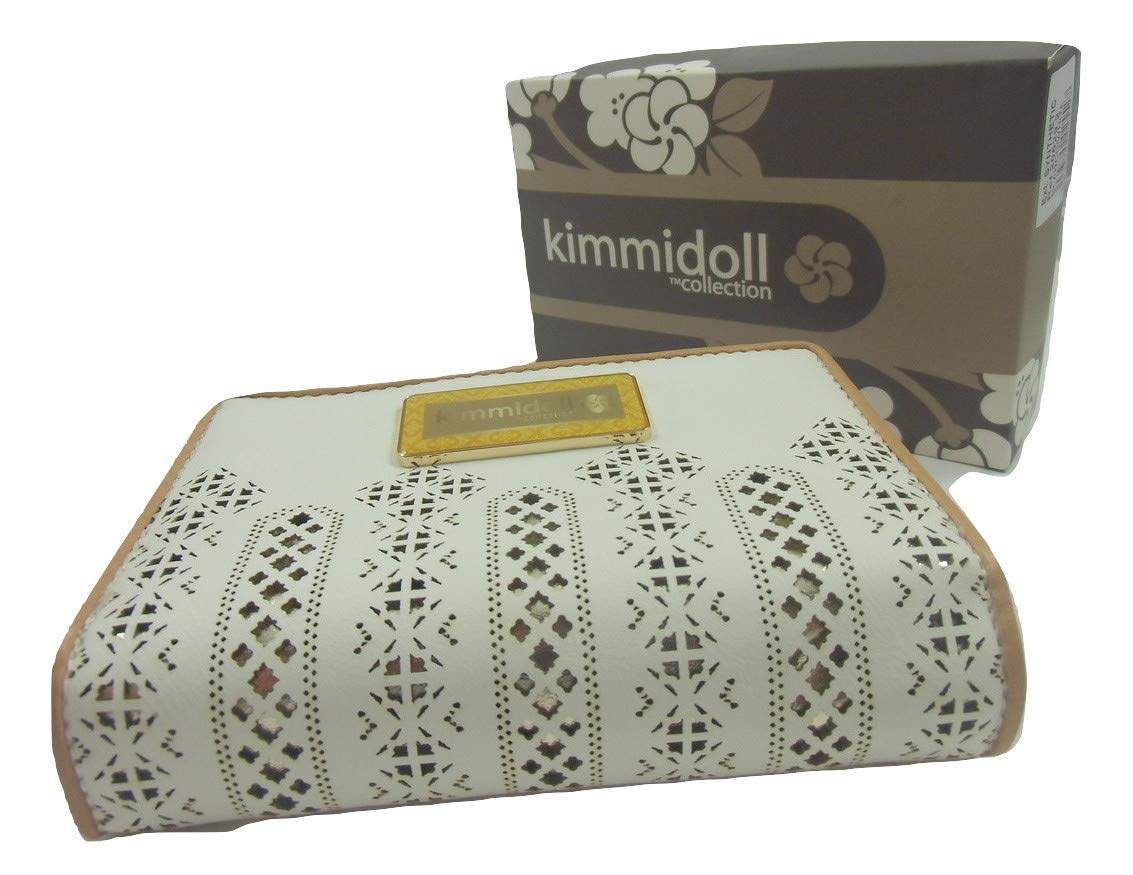 Kimmidoll Collection Monedero Cartera Blanca Mujer: Amazon ...