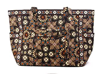Vera Bradley Get Carried Away Tote (Canyon)