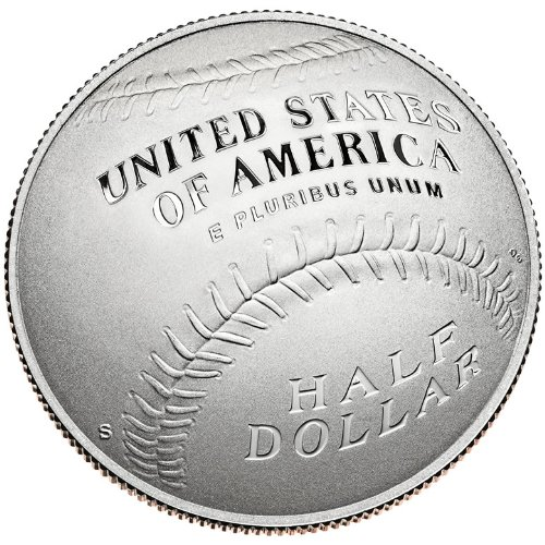 2014 S Commemorative Set Baseball Hall Of Fame Half Dollar Proof Half Dollar Uncirculated US - Museum Mint