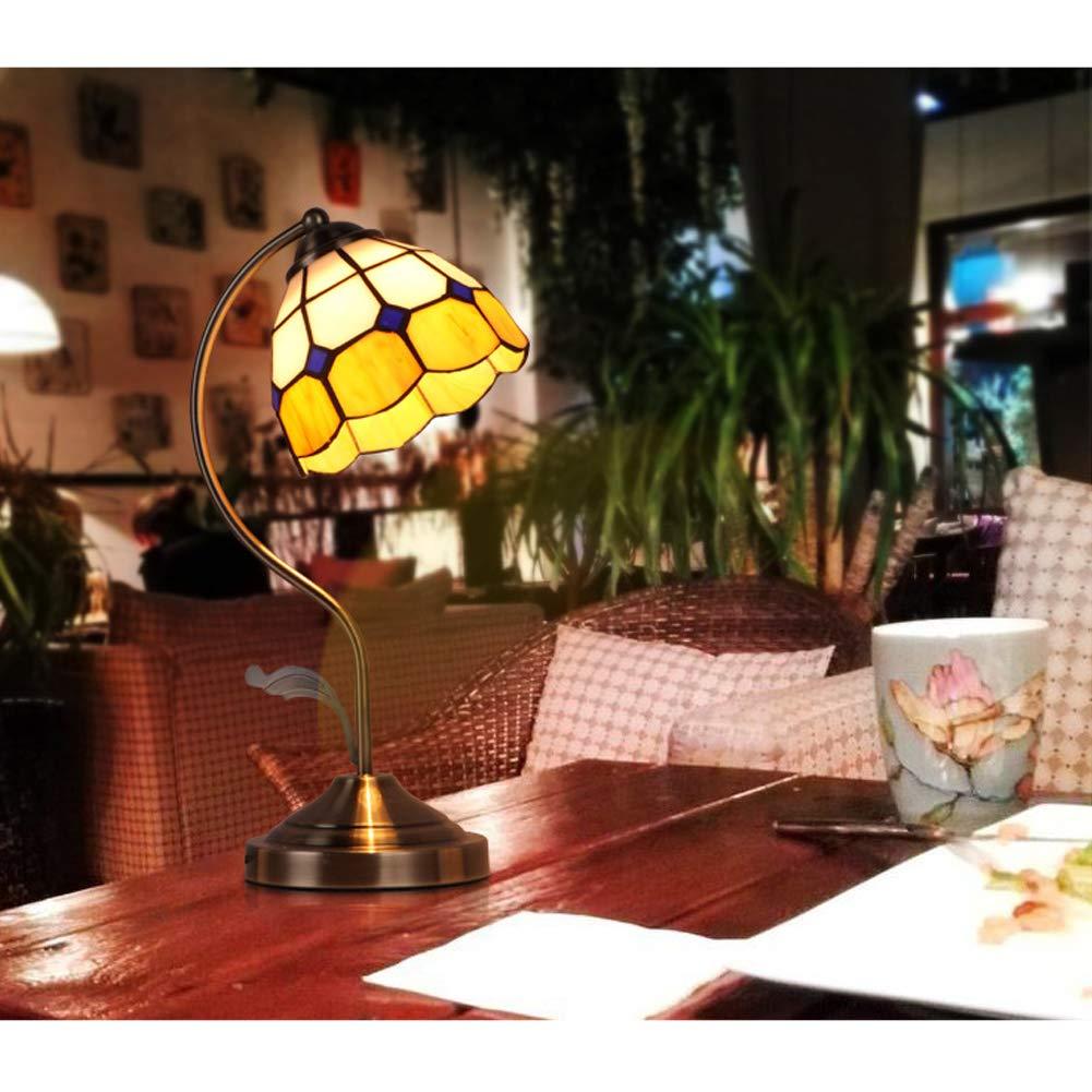 Amazon.com: CCSUN Led E27 Lámpara de mesa dormitorio ...
