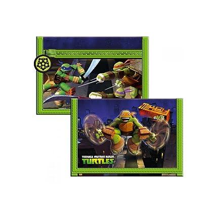 Cartera billetero de Tortugas Ninja: Amazon.es: Juguetes y ...
