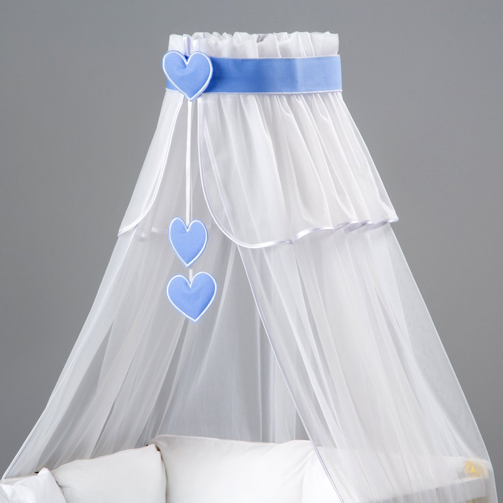 Holder//Designed by Dreamzzz Handmade Lovely Canopy//Mosquito Net for Baby Cot Bed Crib 3 Element Set Hanging Decorations