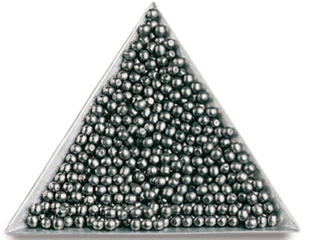 Tumbling Media Stainless Steel Balls 3/16'' Package Of 10 Lbs by BC Precision