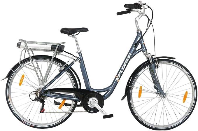 Silver Line Lady, 26 Pulgadas, Bicicleta Eléctrica para Adultos, E ...