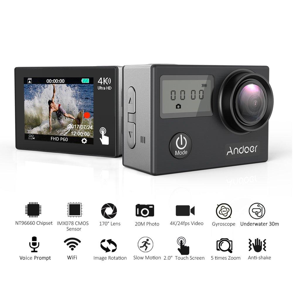 Andoer AN2 4K WiFi アクションカメラ