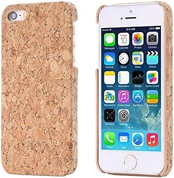 ECENCE Apple iPhone SE / 5 5S Corcho Funda Caja Caso Madera ...