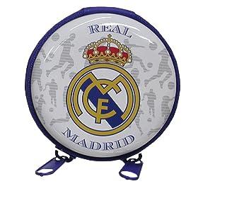 REAL MADRID CF Monedero redondo de metal con cremallera ...