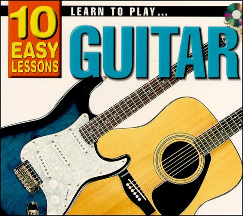 10 Easy Lessons- Learn To Play Guitar CD Size: Learn Guitar ...
