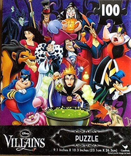 Disney Villains ~ 100 Piece Jigsaw Puzzle ~ Fantastic Time S