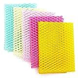 OliviaTree 5PCS Innovative Dish Washing Net Cloths,Scourer,Quick Dry, Mesh net for Washing Dish, Dish wash net, Dish Sponge, Dish Scrubber 11' by 11'