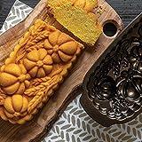 Nordic Ware 93448 Wheat & Pumpkin Cast Loaf