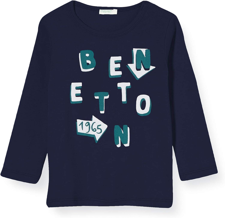 United Colors of Benetton T-Shirt M//L Camiseta de Tirantes para Beb/és