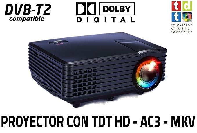 Proyector de Alta definicion FULLHD, Android, WiFi, TV TDT, AC3 ...