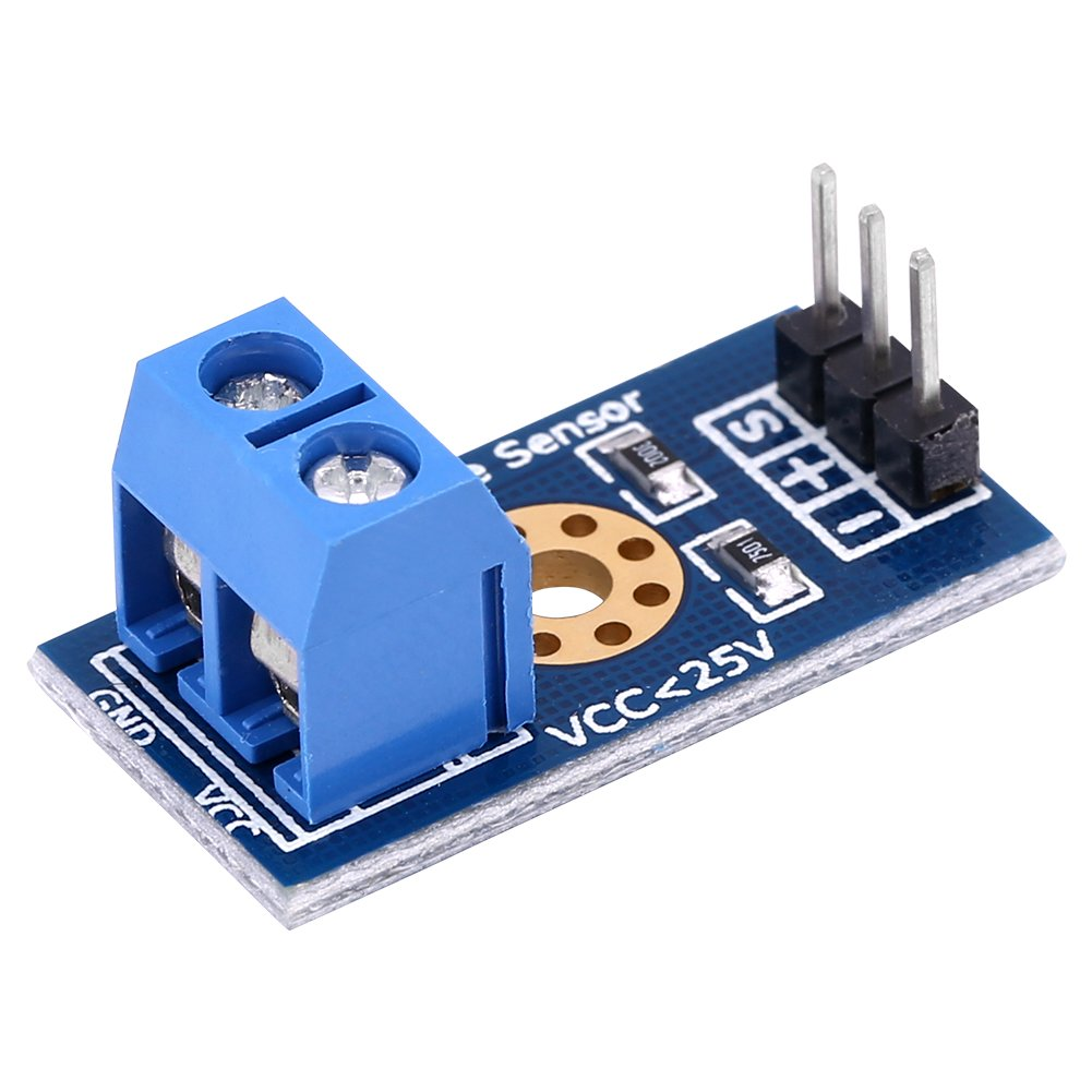 Voltage Sensor Modules Electronic Components 4pcs//Set Max 25V Voltage Detector Range 3-Terminal Sensor Module