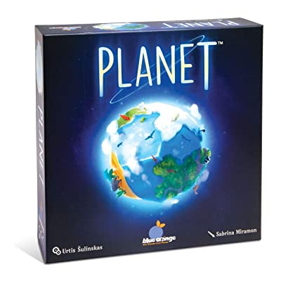 Blue Orange Games Planet Board Game - Award Winning Kids, Family or Adult Strategy 3D Board Game for 2 to 4 Players. Recommended for Ages 8 & Up.: Toys & Games