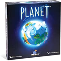 Blue Orange Games Planet Board Game - Award Winning Kids, Family or Adult Strategy 3D Board game for 2 to 4 players…