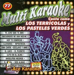 Various - MultiKaraoke OKE-0077 Canta como Los Terricolas