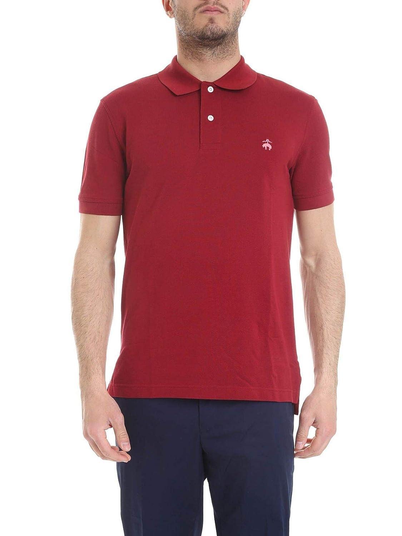 Brooks Brougehers Luxury mode Homme 100126552 Rouge Polo   Printemps été 19