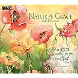 Lang 2017 Nature's Grace Wall Calendar, 13.375x24-Inch