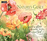 Lang 2017 Nature's Grace Wall Calendar, 13.375 x 24 inches (17991001932)