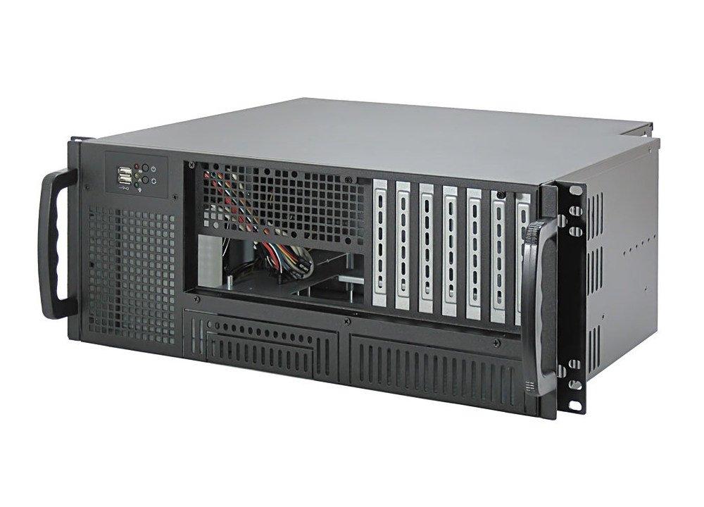 19' châ ssis de serveur / rack 4U - IPC-E420 / 35, 5 cm yakkaroo