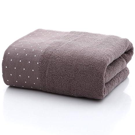 Toalla de baño, algodón Lunares Color Liso Jacquard Archivo Roto Toalla de Toalla 4 Colores