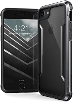 Amazon Com X Doria Defense Shield Compatible With Apple Iphone Se 8 7 Military Grade Drop Tested Anodized Aluminum Tpu And Polycarbonate Protective Case For Apple Iphone Se 8 7 Black