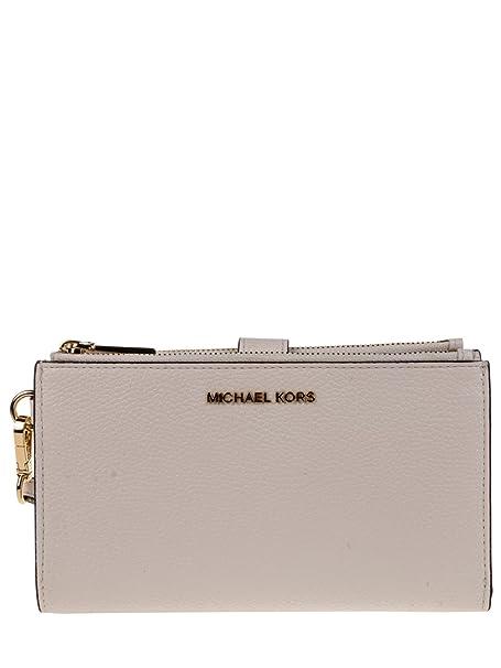 MICHAEL Michael Kors Cartera para mujer de Cuero Mujer Blanco Bianco Talla única: MICHAEL BY MICHAEL KORS: Amazon.es: Ropa y accesorios
