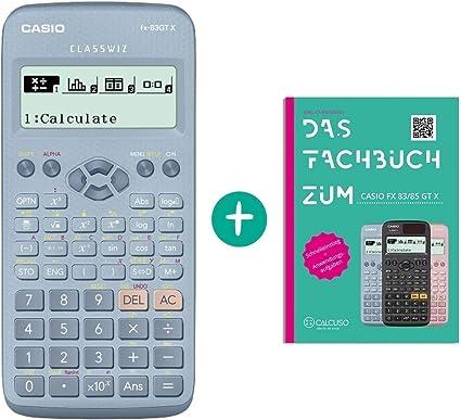 erweiterte Garantie Casio FX 83 GT X Blau