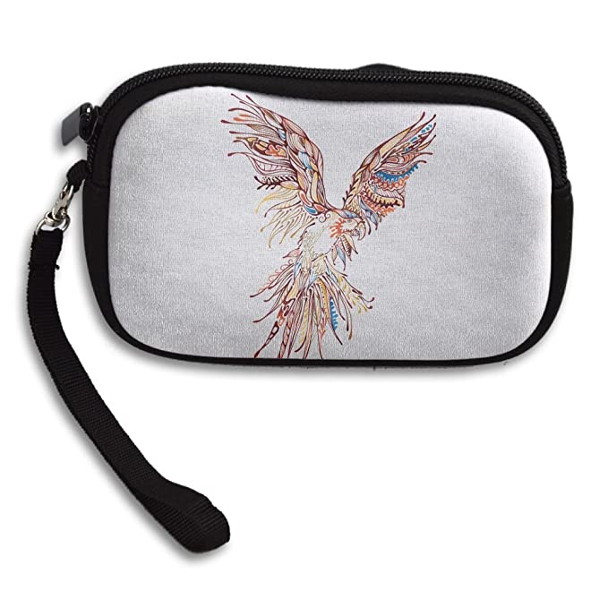 Artistic Hawk Eagle Pattern Comfortable Coin Purse Storage Package Wallet  Zipper Change Holder Bag Key Wristlet 1194bb9fa1