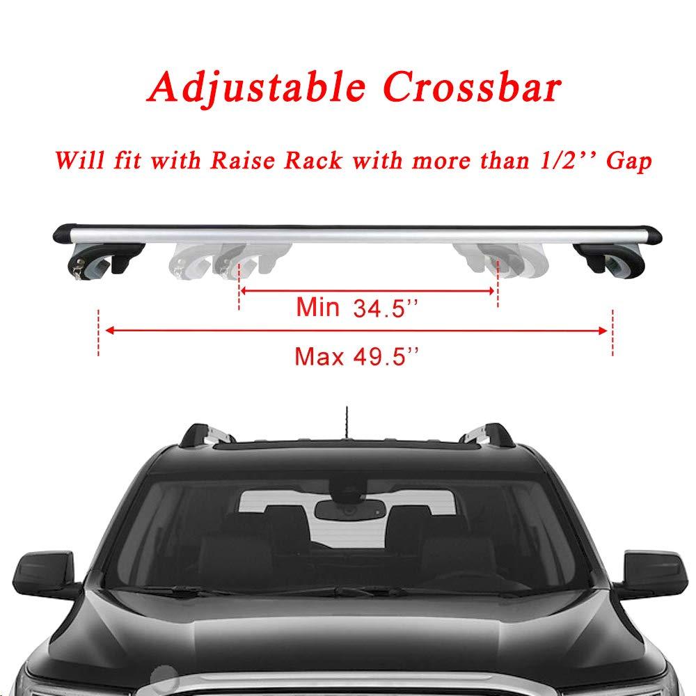 LT Sport SN#100000000137-235 for Suzuki SX4//XL-7 Cross Bars Cargo Carrier Top Roof Rack