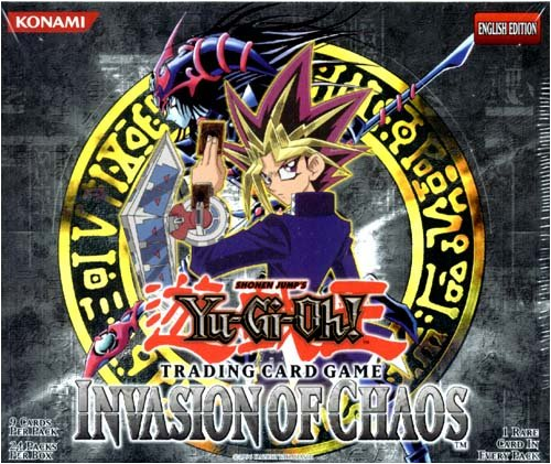 Yu-Gi-Oh Invasion Of Chaos Booster Box 24ct Unlimited Edition ()