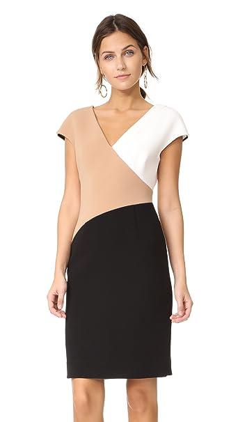0a5d3c978cdd45 Diane von Furstenberg Women s V Neck Banded Dress
