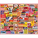 White Mountain Puzzles Gum Wrappers - 1000 Piece Jigsaw Puzzle
