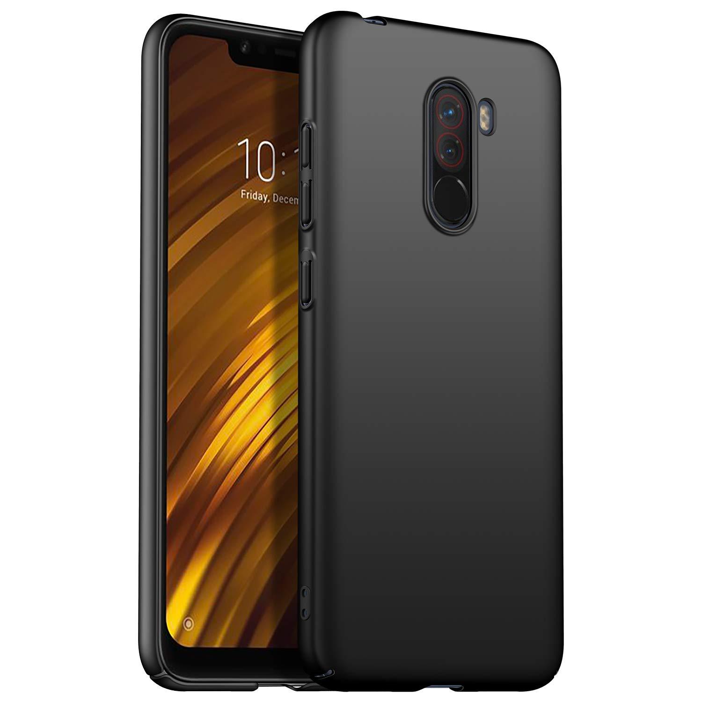 Funda Xiaomi Pocophone F1 TopACE Hard Cover Caso para Xiaomi Pocophone F1 (Negro): Amazon.es: Electrónica
