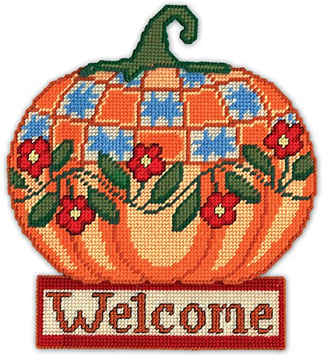 Design Works Crafts Welcome Pumpkin