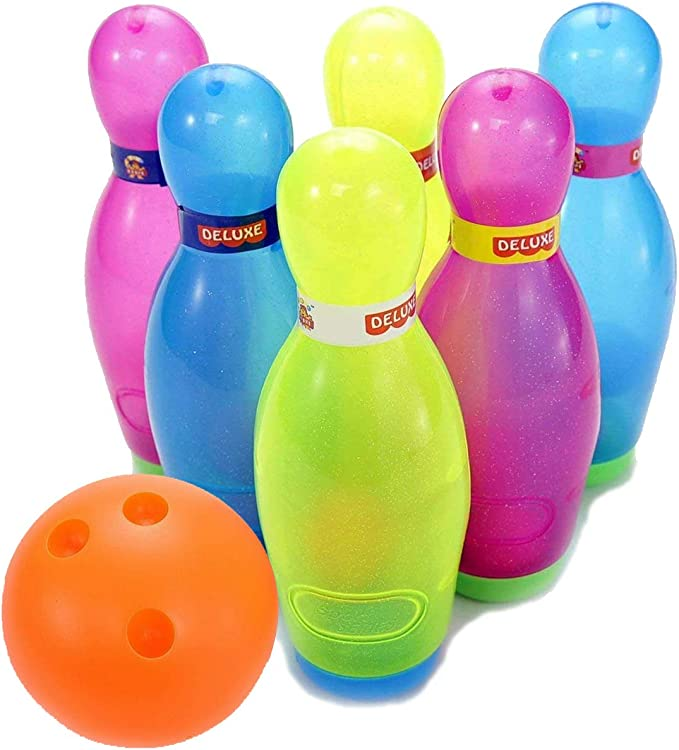 Liberty Imports Deluxe Plastic Bowling Ball Set