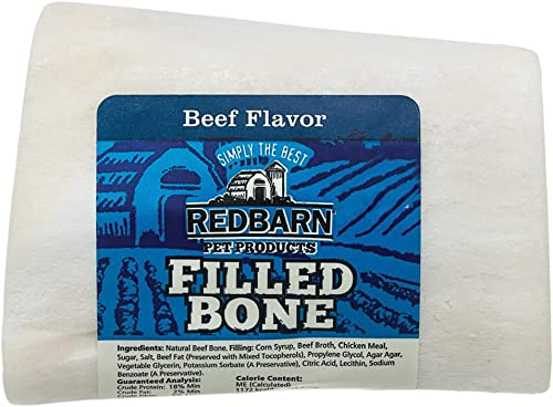 Redbarn Small Filled Bone-Beef 20-Count