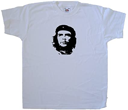 Amazon.com: Che Guevara White Kids T-Shirt: Clothing