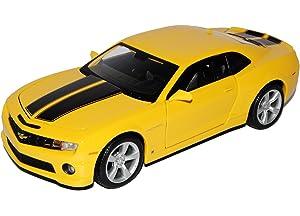 Chevrolet Camaro Concept 2006 gelb Bumblebee Transformers Modellauto 1:24 Jada
