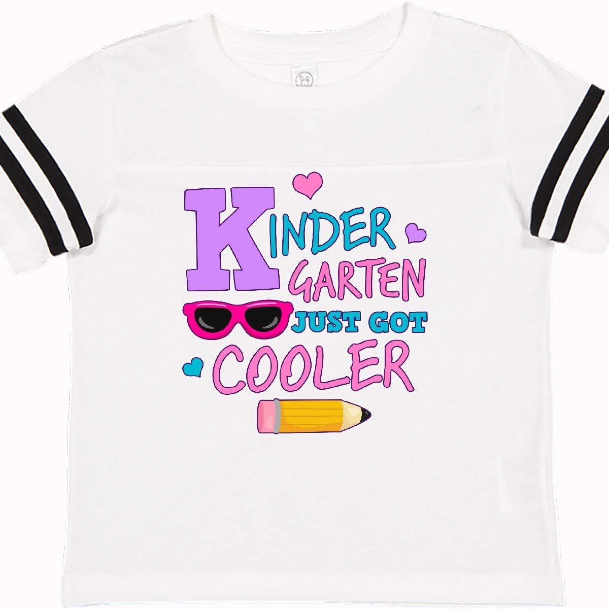 inktastic Kindergarten Just Got Cooler with Pencil and Toddler T-Shirt
