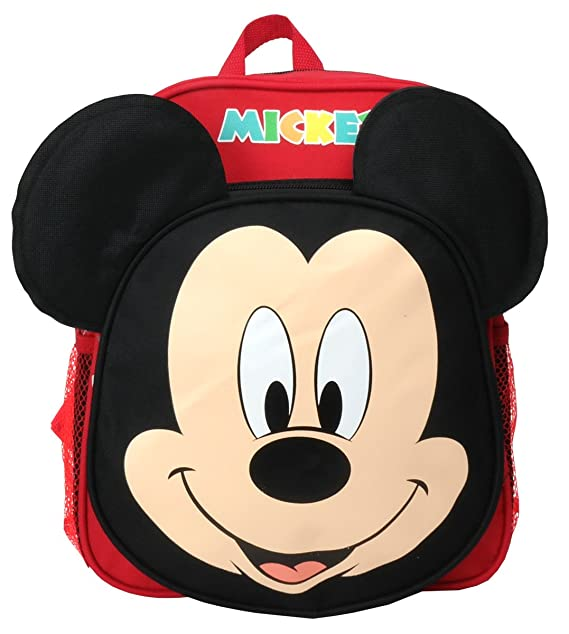 cfca97c0bff Image Unavailable. Image not available for. Color  Disney Mickey Mouse 12  inches Toddler Mini Backpack