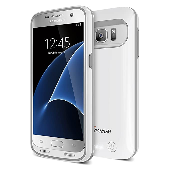 hot sale online 10ac5 4657d Galaxy S7 Battery Case, Trianium Atomic Pro Charging Battery Pack for  Samsung Galaxy S7-4500mAh Extended Battery Fast Charger [Quick Charge ...