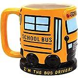 I'm The School Bus Driver Sculpted Ceramic Coffee Mug - Great Fun Gift Idea