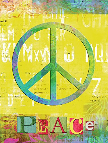 Caroline's Treasures SB3101GF Artsy Peace Flag, Small, Multicolor Review
